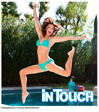 Melissa Rycroft in a Bathing Suit