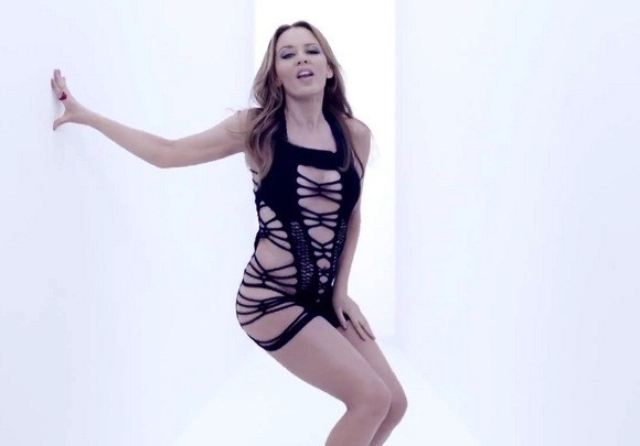 Kylie Minogue Music Video Still