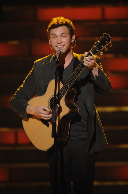 Phillip Phillips Finale Photo