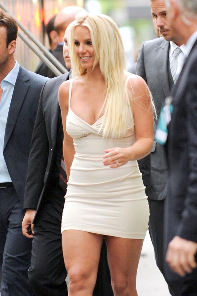 Britney Spears, Hot Dress