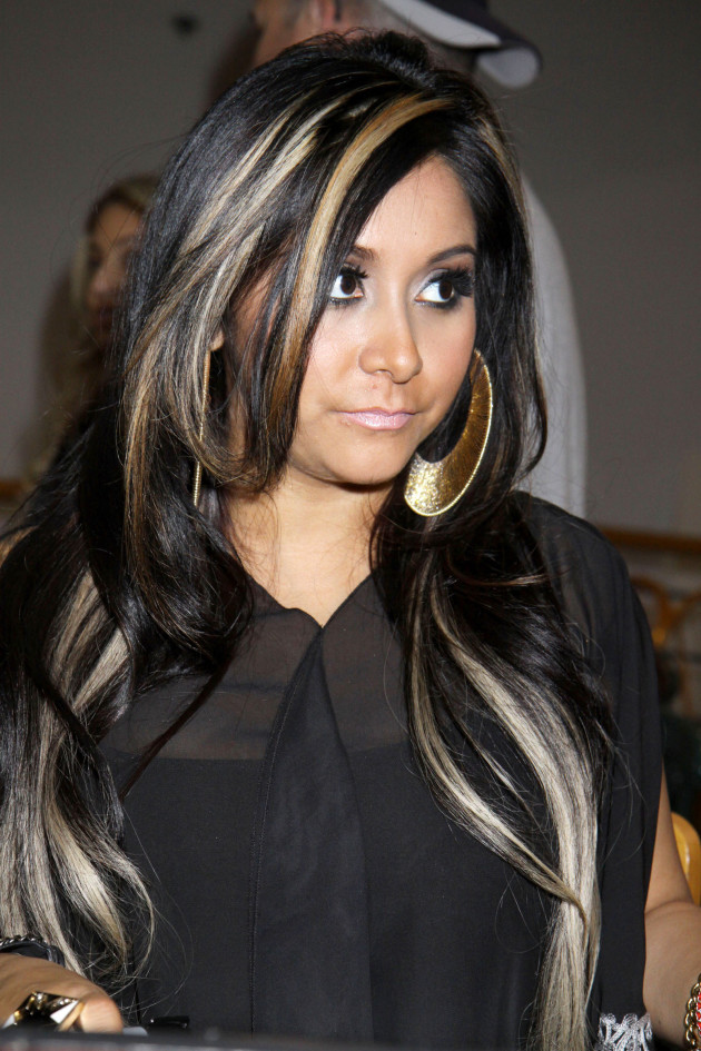 Snooki Hair Highlights