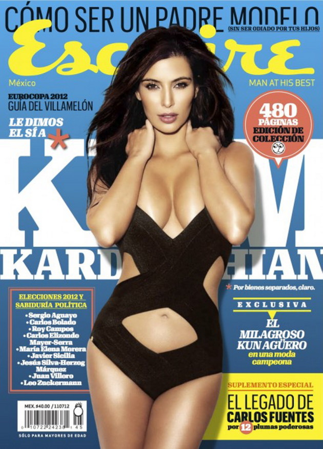 Kim Kardashian Esquire Mexico Cover