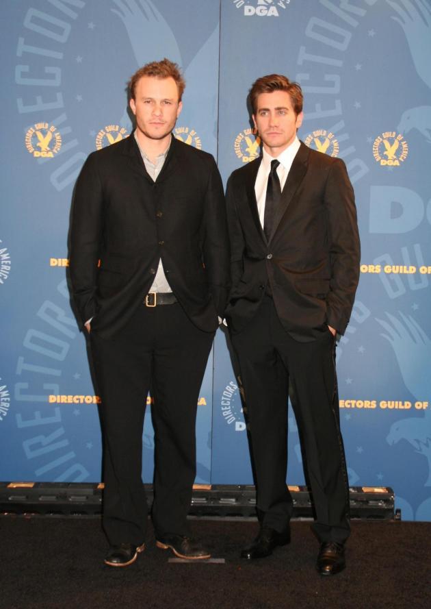 Jake Gyllenhaal And Heath Ledger Love Scene Heath ledger with jakeJake Gyllenhaal And Heath Ledger Love Scene