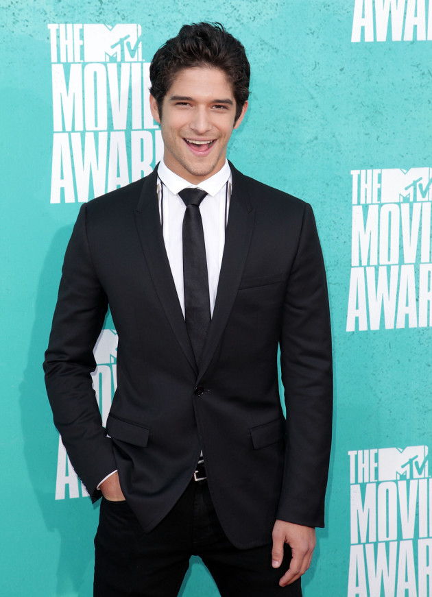 Tyler Posey at MTV Movie Awards