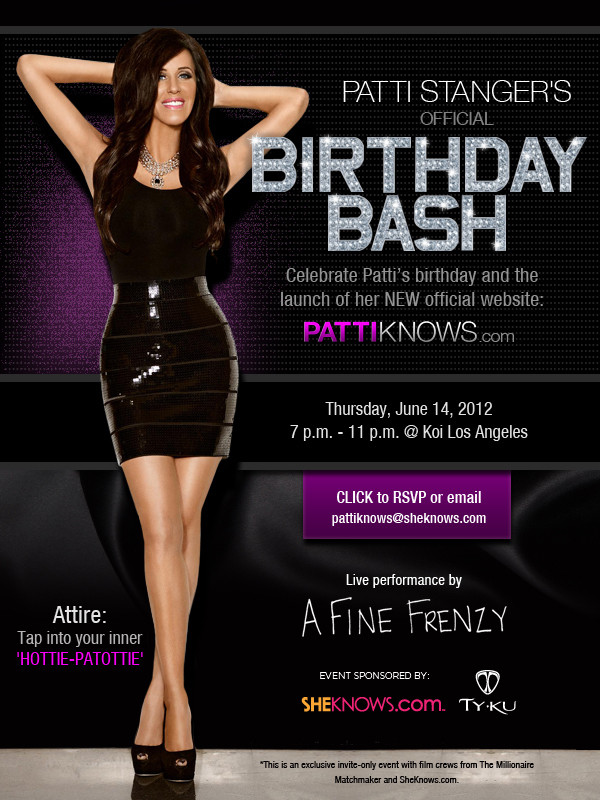 Patti Stanger Birthday Party