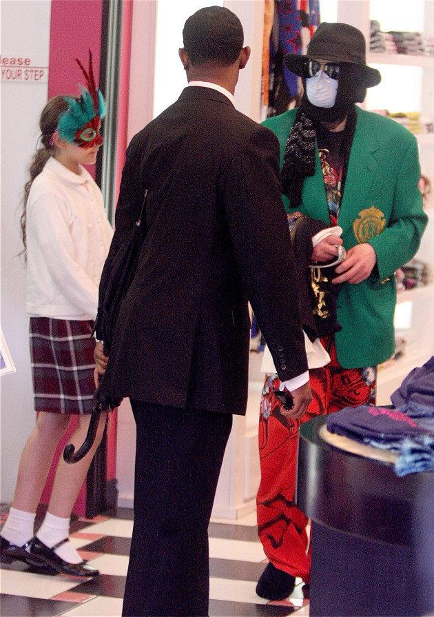 Michael Jackson, Mask