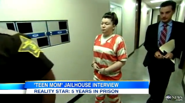 Amber Portwood in Jail