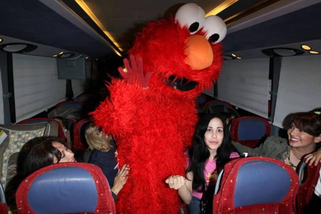 Nadya Suleman and Elmo