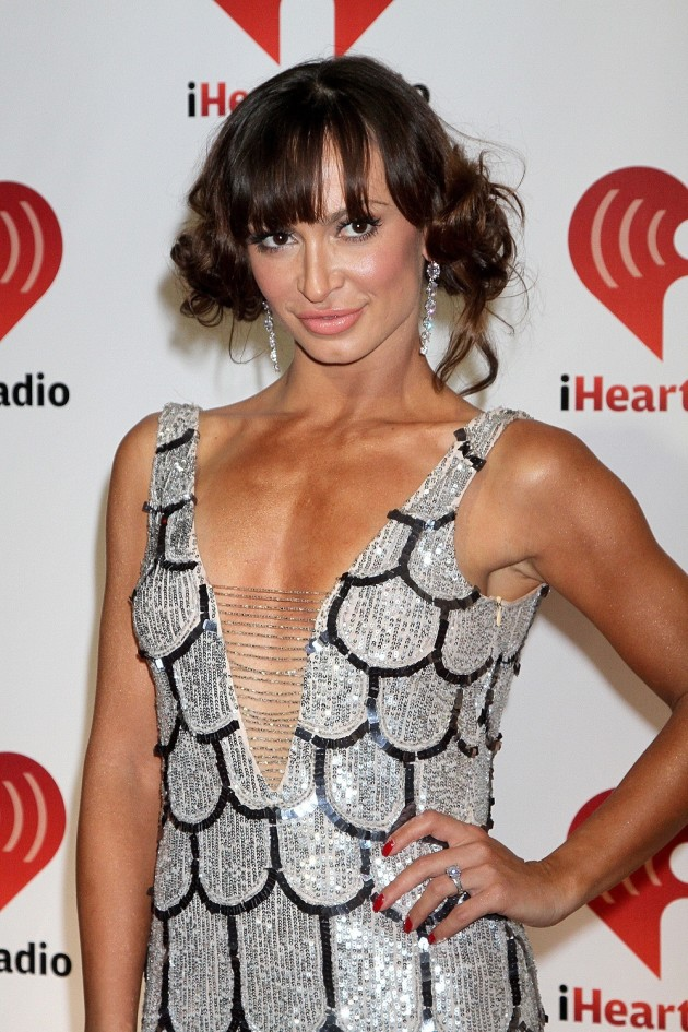 Karina Smirnoff Crazy Hair