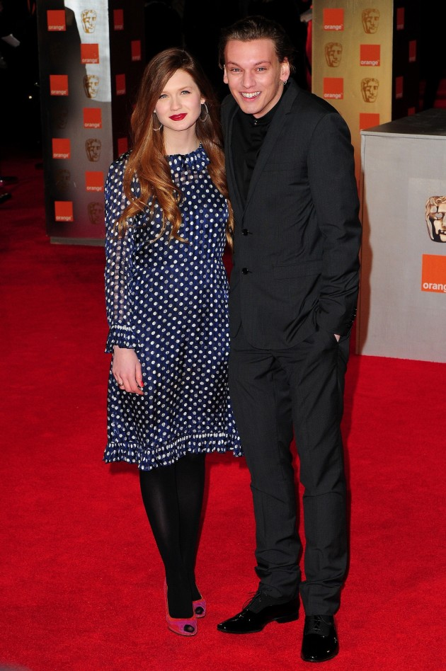 Jamie Campbell Bower and Bonnie Wright Photo