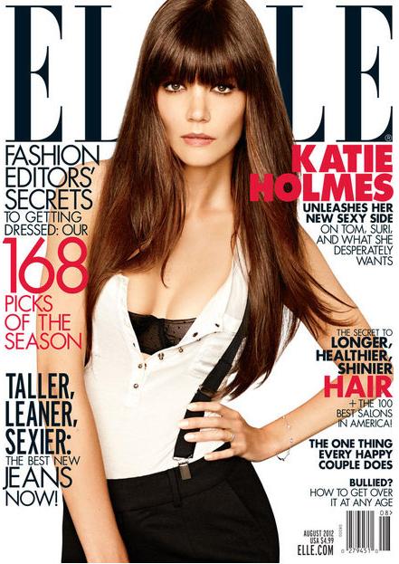 Katie Holmes Elle