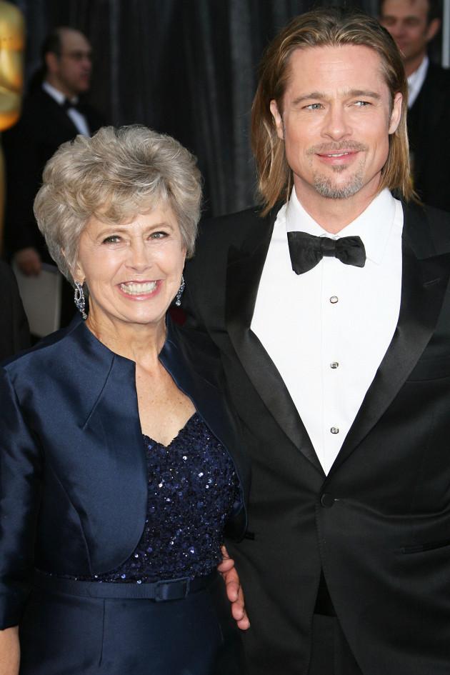 Jane Pitt and Brad Pitt
