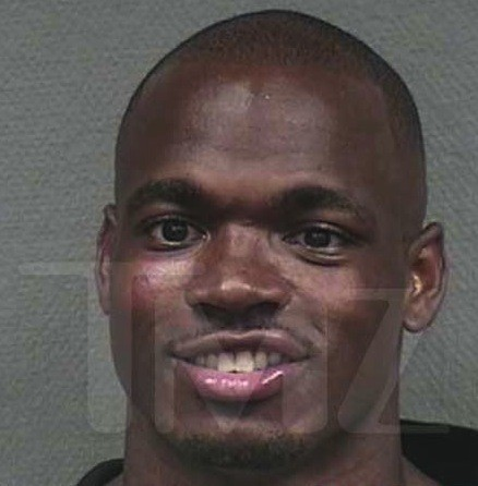 Adrian Peterson Mug Shot
