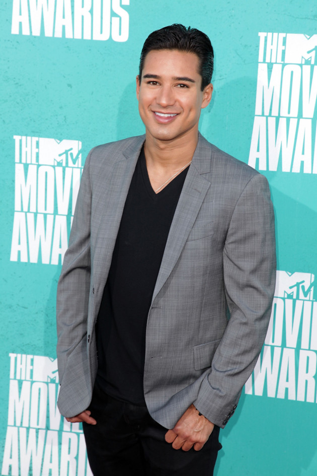 Mario Lopez at the MTV Movie Awards