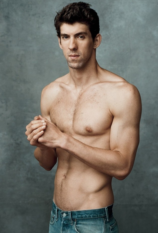 Michael Phelps Shirtless