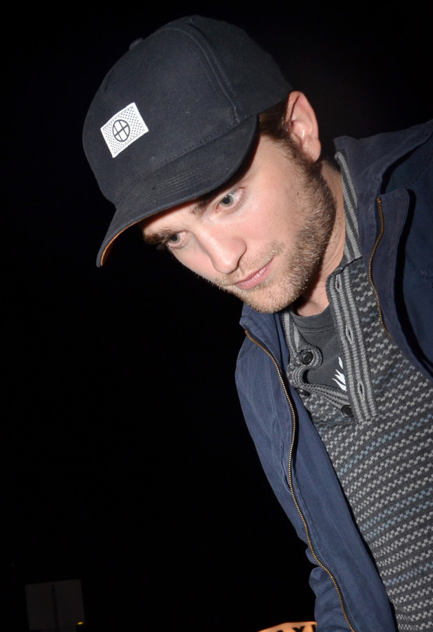 Robert Pattinson Outside Chateau Marmont