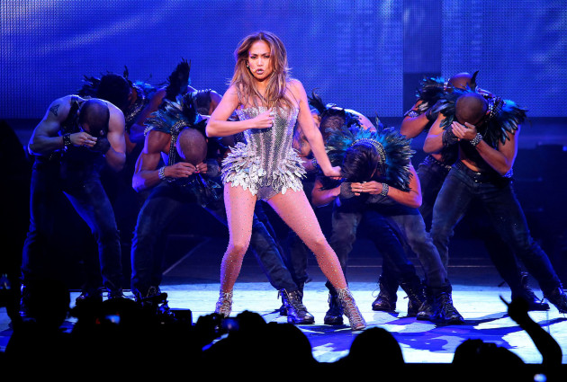 Jennifer Lopez on Stage