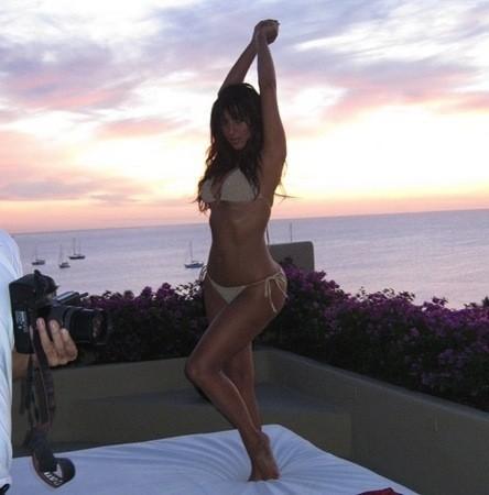 Kim Kardashian Bikini Image