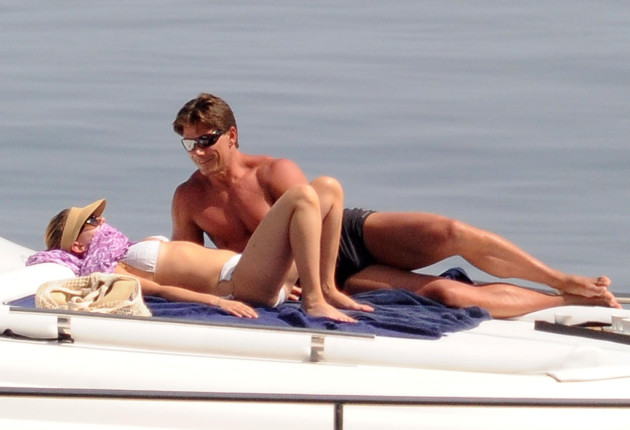 Scarlett Johansson, Shirtless Bodyguard