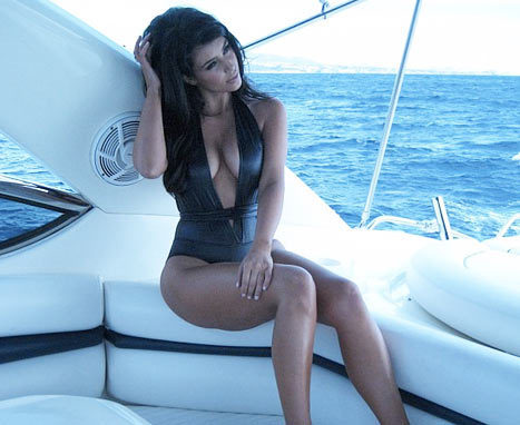 Kim Kardashian Bathing Suit Pic