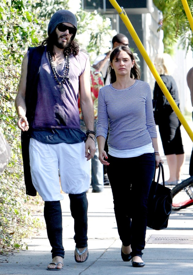 Isabella Brewster and Russell Brand