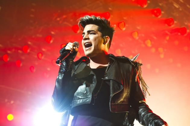 Adam Lambert in the UK