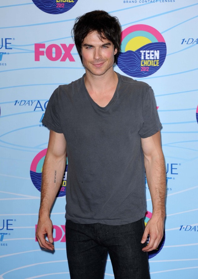 Ian Somerhalder at Teen Choice Awards