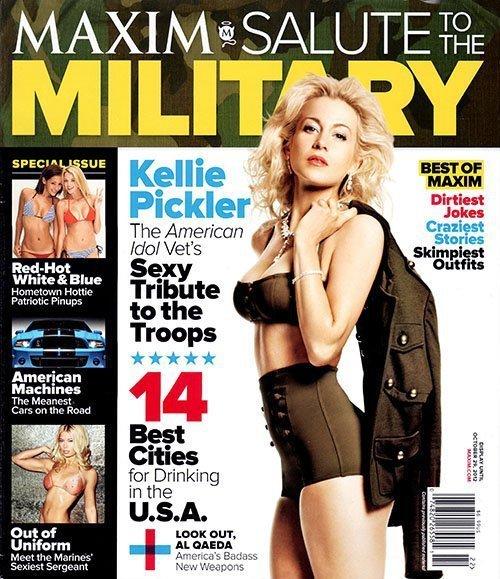 Kellie Picker Maxim Cover