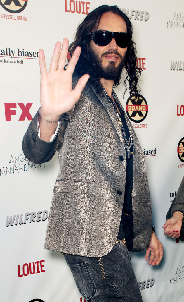 Russell Brand at FX Party