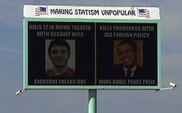 Obama Aurora Billboard