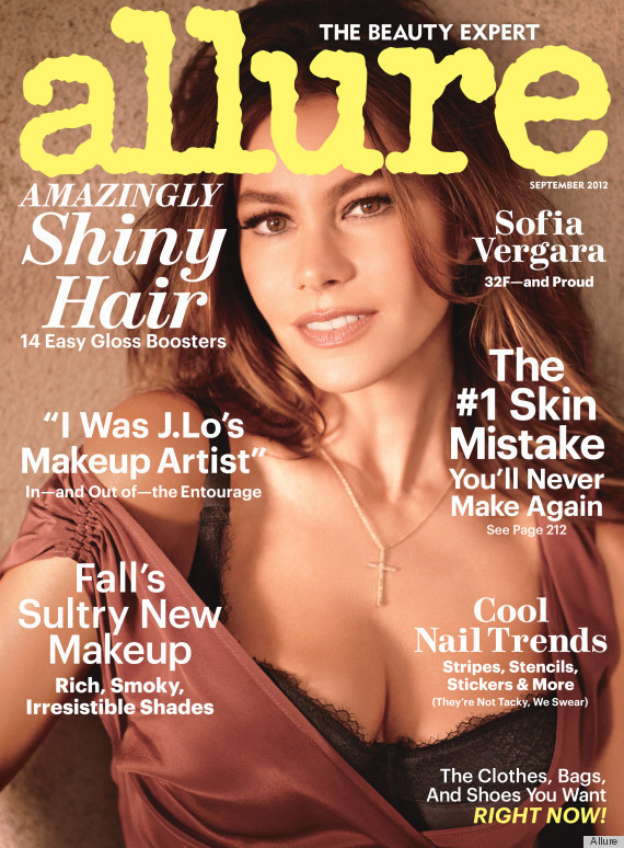 Sofia Vergara Allure Cover