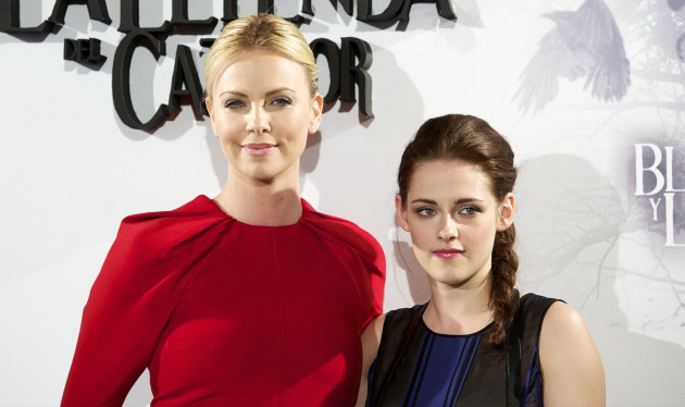 Charlize Theron and Kristen Stewart