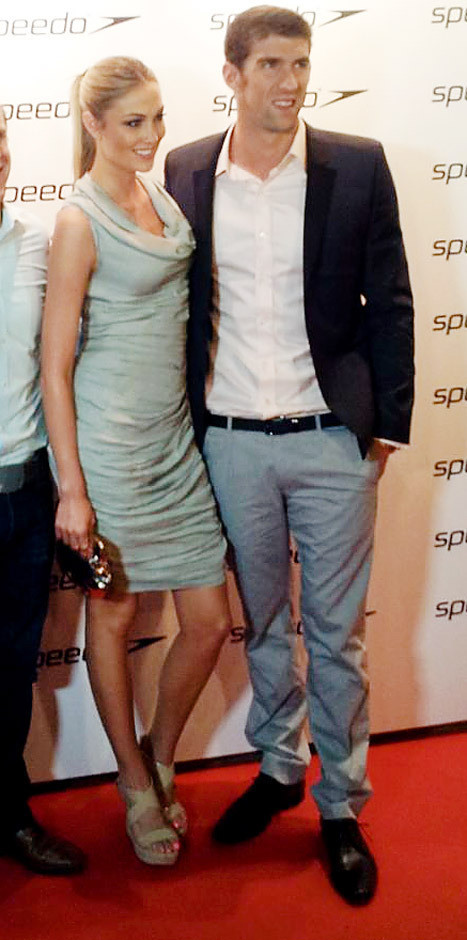 Megan Rossee, Michael Phelps