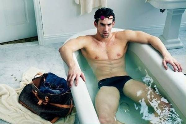 Michael Phelps Louis Vuitton Ad