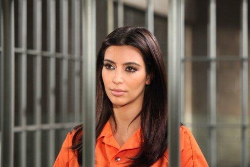 Kim Kardashian Prison Photo