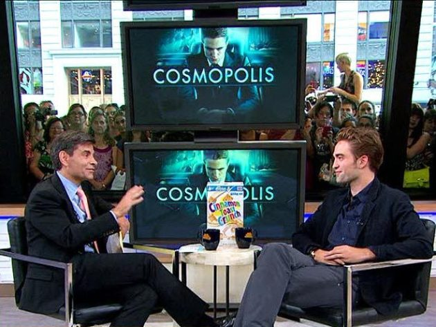 Robert Pattinson on GMA