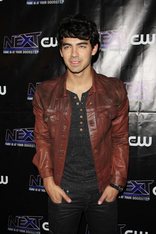 Joe Jonas on the Red Carpet