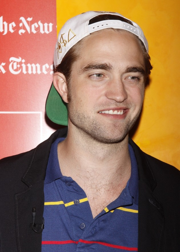 Robert Pattinson with a Hat