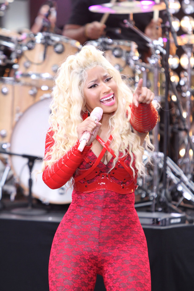 Nicki Minaj Performance Pic