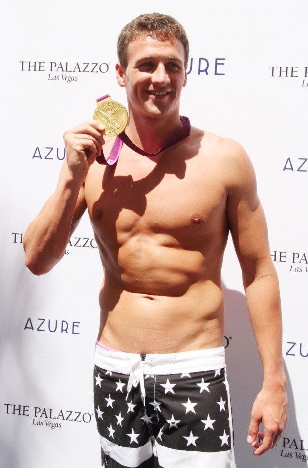 Ryan Lochte Shirtless Picture