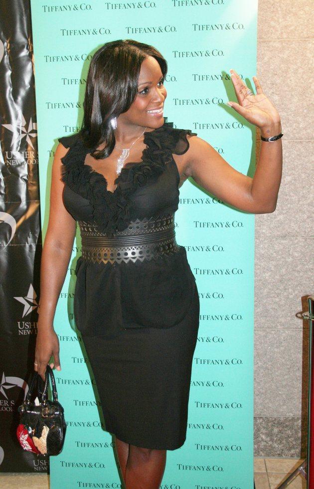 Tameka Foster Waving
