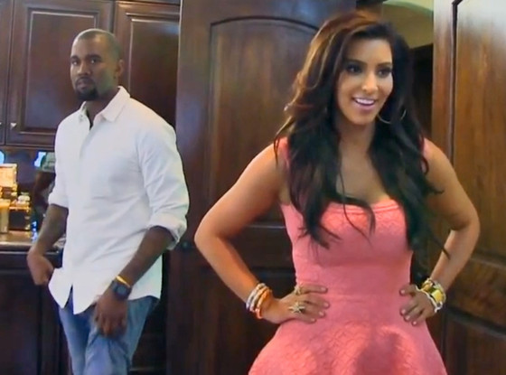 Kanye West and Kim Kardashian on Keeping Up