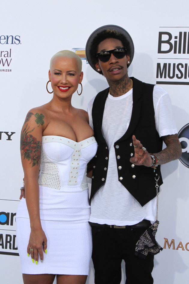 Amber Rose and Wiz Khalifa Photo