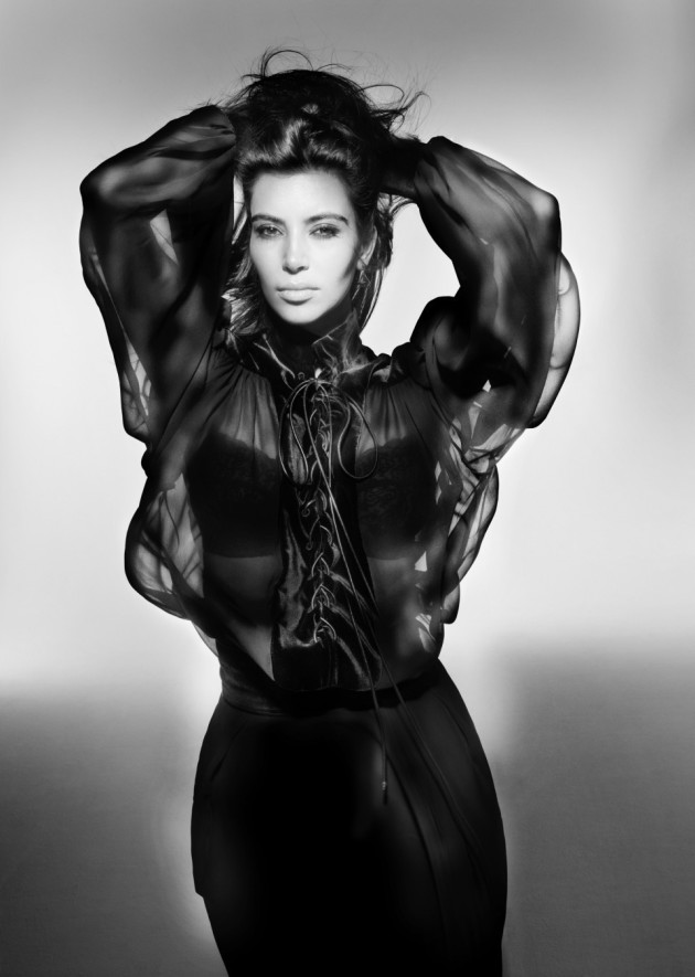 Kim Kardashian V Magazine Photo