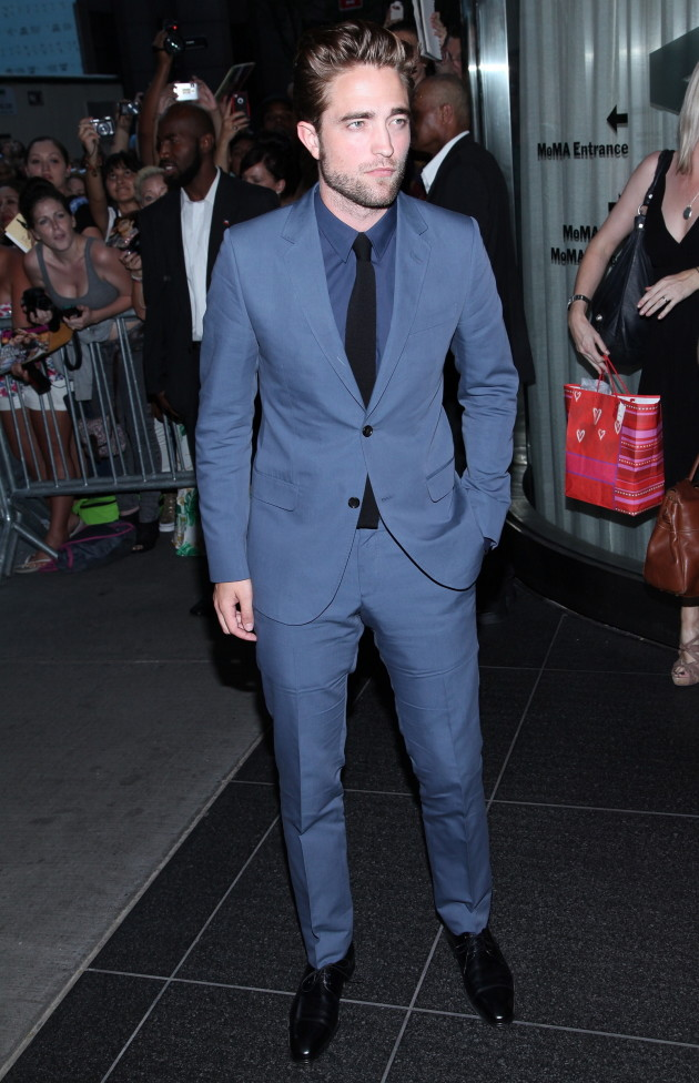 Dapper Robert Pattinson