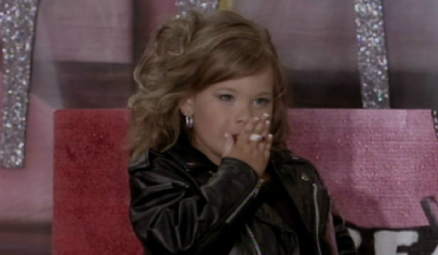 Toddlers & Tiaras' Destiny Smoking