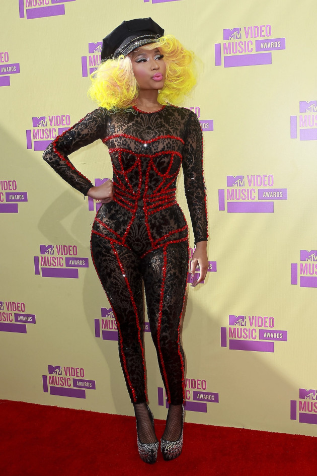 Nicki Minaj at the VMAs
