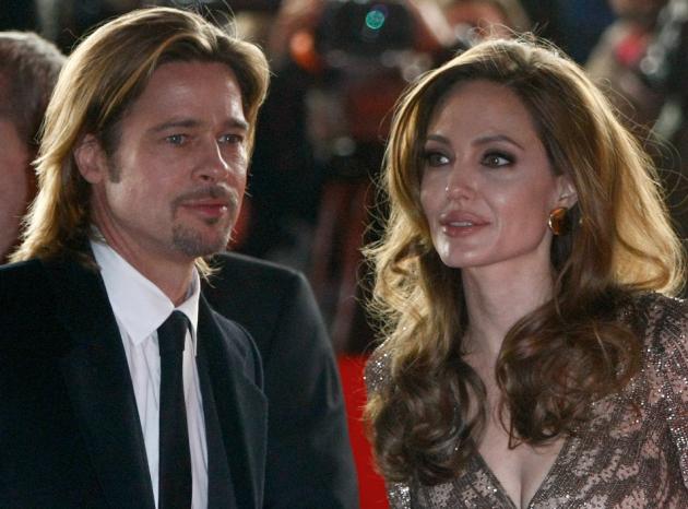 Brad Pitt and Angelina Jolie Image