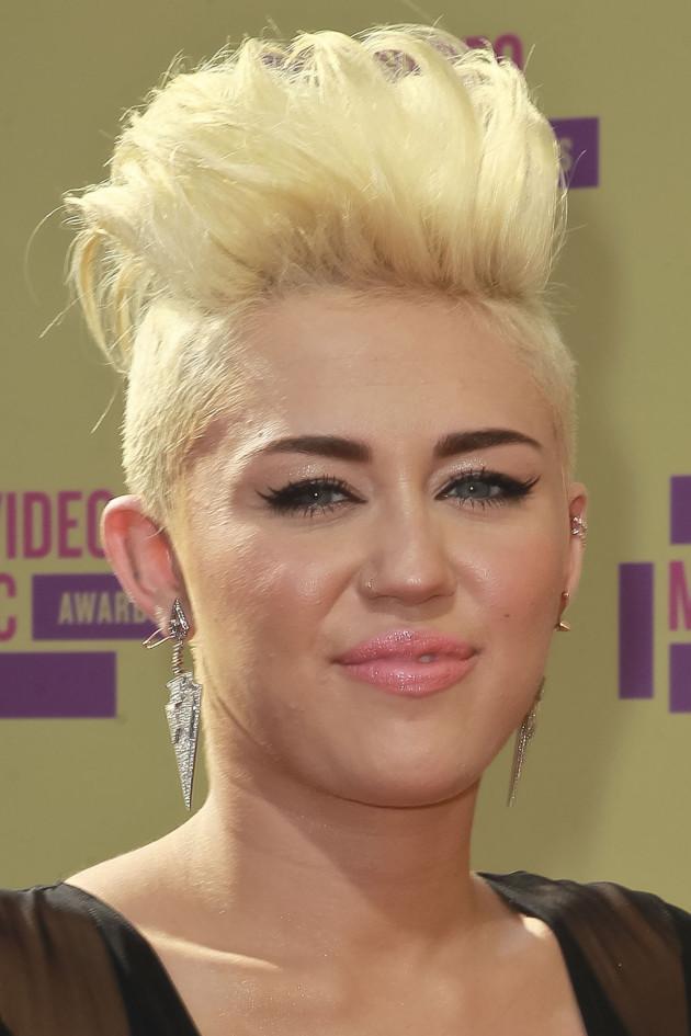 Miley Cyrus Mohawk