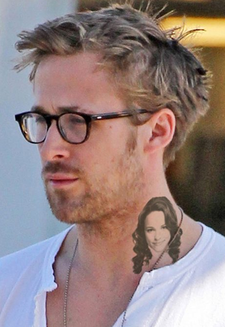 Ryan Gosling Tattoo